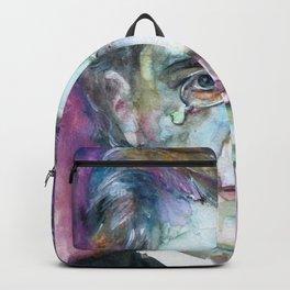 GUSTAV MAHLER - watercolor portrait.4 Backpack