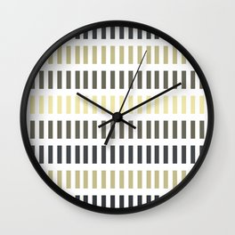Stitches Which Way Wall Clock
