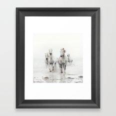 Ghost Riders - Horse Art Framed Art Print