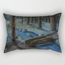 Night Critters Rectangular Pillow