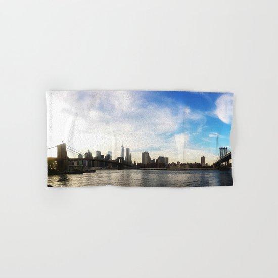 New York City Bridges Hand & Bath Towel
