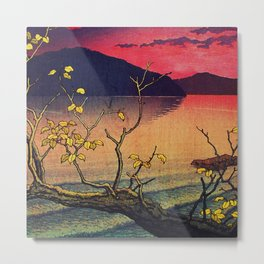Hailing the Day's End at Towa Metal Print