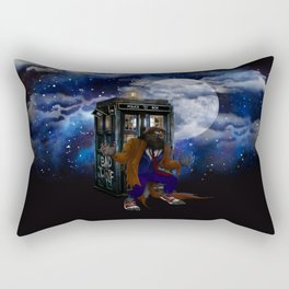Werewolf 10th Doctor who Rectangular Pillow