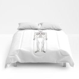 Human body skeleton Comforters