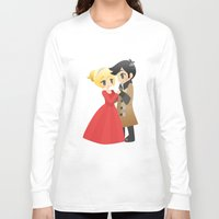 ouat Long Sleeve T-shirts featuring OUAT - Captain Swan Formal by Choco-Minto