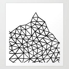 Seg Mountain Art Print