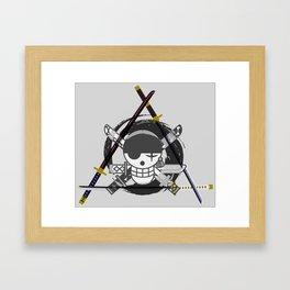 Zoro's Katanas - One Piece Framed Art Print