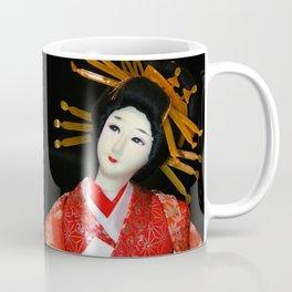 Oiran in Red Coffee Mug