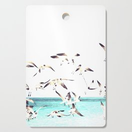 Seagulls Illustration Cutting Board