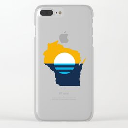 Milwaukee Wisconsin Clear iPhone Case