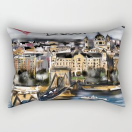 I love Budapest Rectangular Pillow