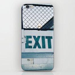 Exit iPhone Skin