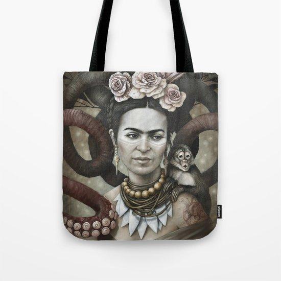 Hommage à Frida Kahlo 3 Tote Bag