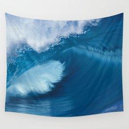 Teahupoo Tahiti Perfect Barrel Wall Tapestry
