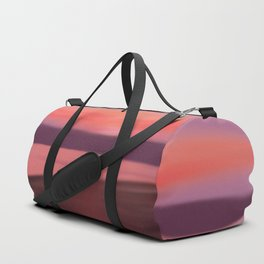 Contemplation by the sea Duffle Bag