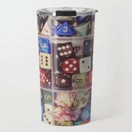 Colorful Dice Travel Mug