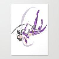 kate bishop Canvas Prints featuring Kate Bishop  by Tegan New