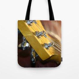 Guitar Headstock Tote Bag
