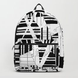 barcode cut Backpack