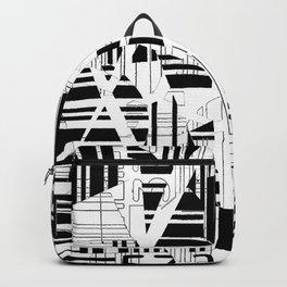 barcode cut Backpack