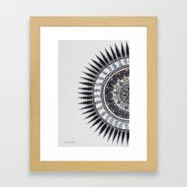 180 degrees of nature Framed Art Print