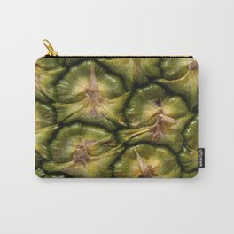 Closeup of a pineapple skin Carry-All Pouch