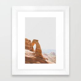 Delicate Arch Framed Art Print
