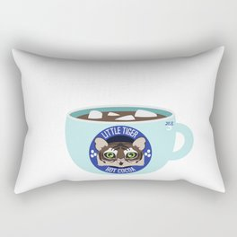 Little Tiger Hot Cocoa Rectangular Pillow