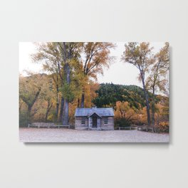 Miners Cottage - New Zealand Metal Print