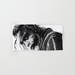 The joker - Heath Ledger Hand & Bath Towel