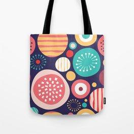Circles & Dots Tote Bag