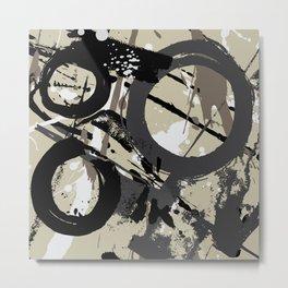 Enso Groove D by Kathy Morton Stanion Metal Print