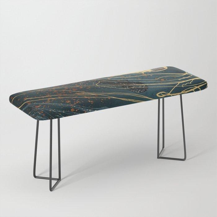 Metallic Jellyfish Bench