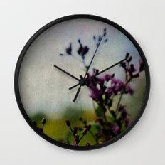 Ironweed Wall Clock