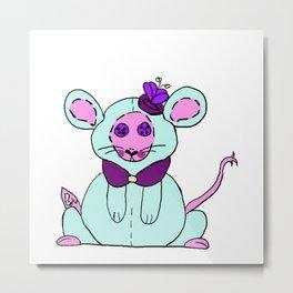 Stuffies Missy Mouse Metal Print