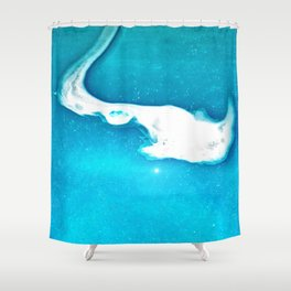 Ghostly Waters Shower Curtain