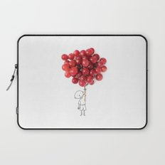 Boy with grapes - NatGeo version Laptop Sleeve
