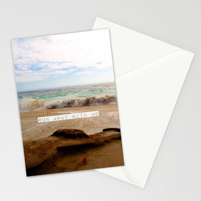 Run Away With Me Stationery Cards