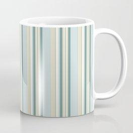 Beach house stripes Coffee Mug