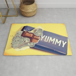 Chocolate Bar Rug