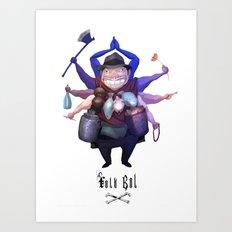 Folkbol Ek Art Print