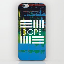 Color Chrome - dope graphic iPhone Skin