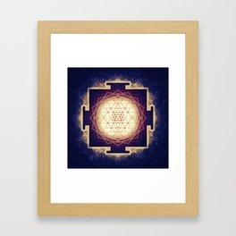 Sri Yantra IX Framed Art Print