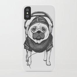 DJ Pug iPhone Case