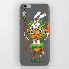 The Hoodoo Man iPhone & iPod Skin