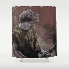 Deaner in the Fog Shower Curtain