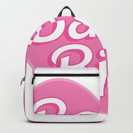 pink heart Backpack