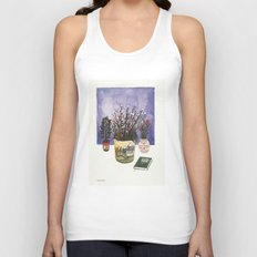 Potted Flowers II Unisex Tank Top