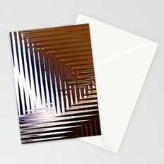 Bright Grid Stationery Cards