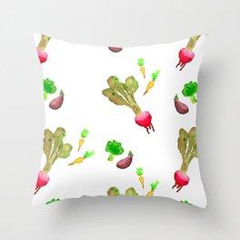 Veggie Fun Throw Pillow
